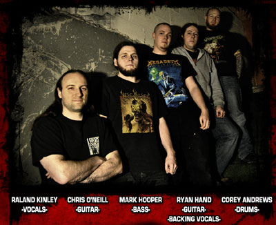 Select and Dismember: Raland Kinley, Chris O'neill, Mark Hooper, Ryan Hand, Corey Andrews